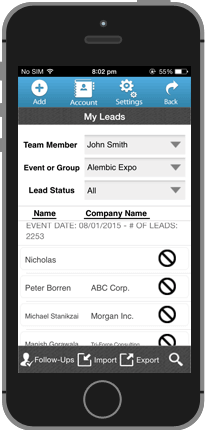 My Leads Listing