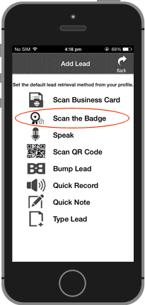 Scan The Badge