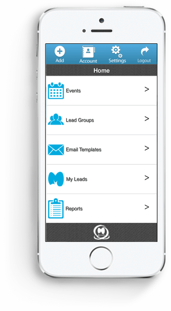 MLeads as Event App